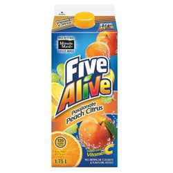 Five Alive P Ion Peach Citrus  L Item 63234