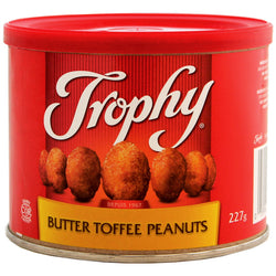 Trophy - Butter Toffee Peanuts - 12/227g - Item # 70577