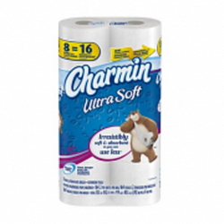 Charmin - Ultra Soft Bathroom Tissue 8DR - 6/8roll - Item # 72114