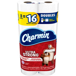 Charmin - Ultra Strong Bathroom Tissue 8DR - 6/8roll - Item # 72131