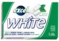 Excel White - Spearmint - 12/12pc - Item # 75052