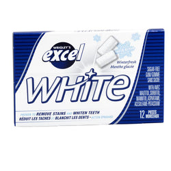 Excel - White Winterfresh - 12/12pc - Item# 75053