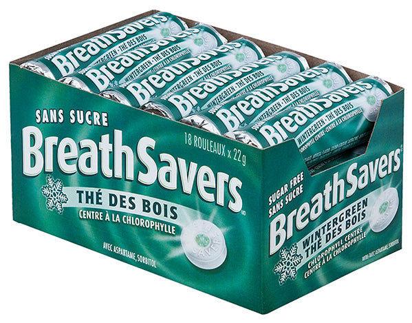 Breathsavers Wintergreen - 18/22g - Item # 75645