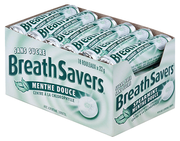 Breathsavers Spearmint - 18/22g - Item # 75646
