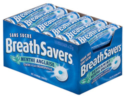 Breathsavers Peppermint - 18/22g - Item # 75647
