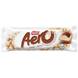 Aero - White Chocolate - 24/40g - Item # 75940