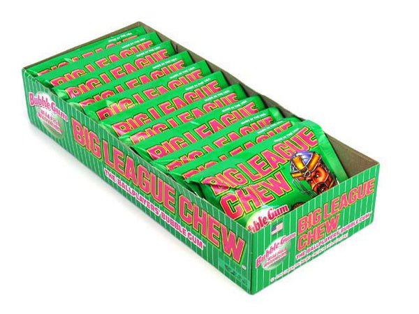 Big League Chew - Watermelon Bubble Gum - 12/60g - Item # 76022