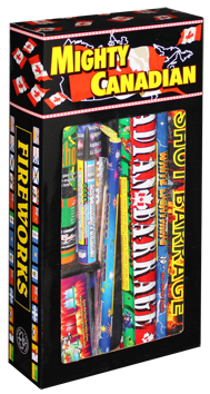 Mystical Fireworks Mighty Canadian - 1ct - MSRP $52.50 - Item# 99241
