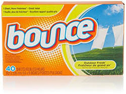 Bounce - Fabric Softener Sheets Outdoor Fresh - 12/40ct - Item # 46912