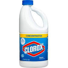 Clorox - Bleach Liquid Conc - 3/3.57L - Item # 45520