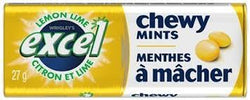 Excel Chewy Mints Lemon Lime - 10/27g - Item # 96081