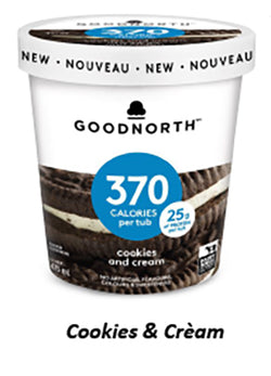 GOODNORTH - Cookies and Cream - 8/475ml - Item# 12345951