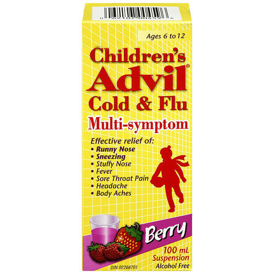 Advil - Childrens Colds Or Flu