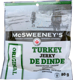 McSweeneys - Turkey Jerky - Original - 80g Bag - Item# 999022