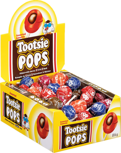 Assorted Tootsie Roll Pops