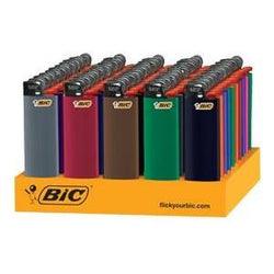 Bic - Regular Lighters Counter Tray - 50/1ct - Item# 77001