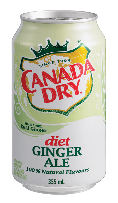 Canada Dry - Diet Gingerale 12 Pack - 12/355ml - Item# 75325