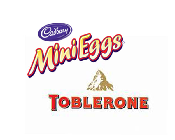 Cadbury Mini Eggs-Toblerone Counter - 132Ct/33-50g - Item # 74595