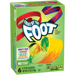 FRUIT BY THE FOOT - Variety Pack Fruit Snack