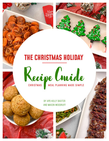The Christmas Holiday Recipe Guide (E-Book)
