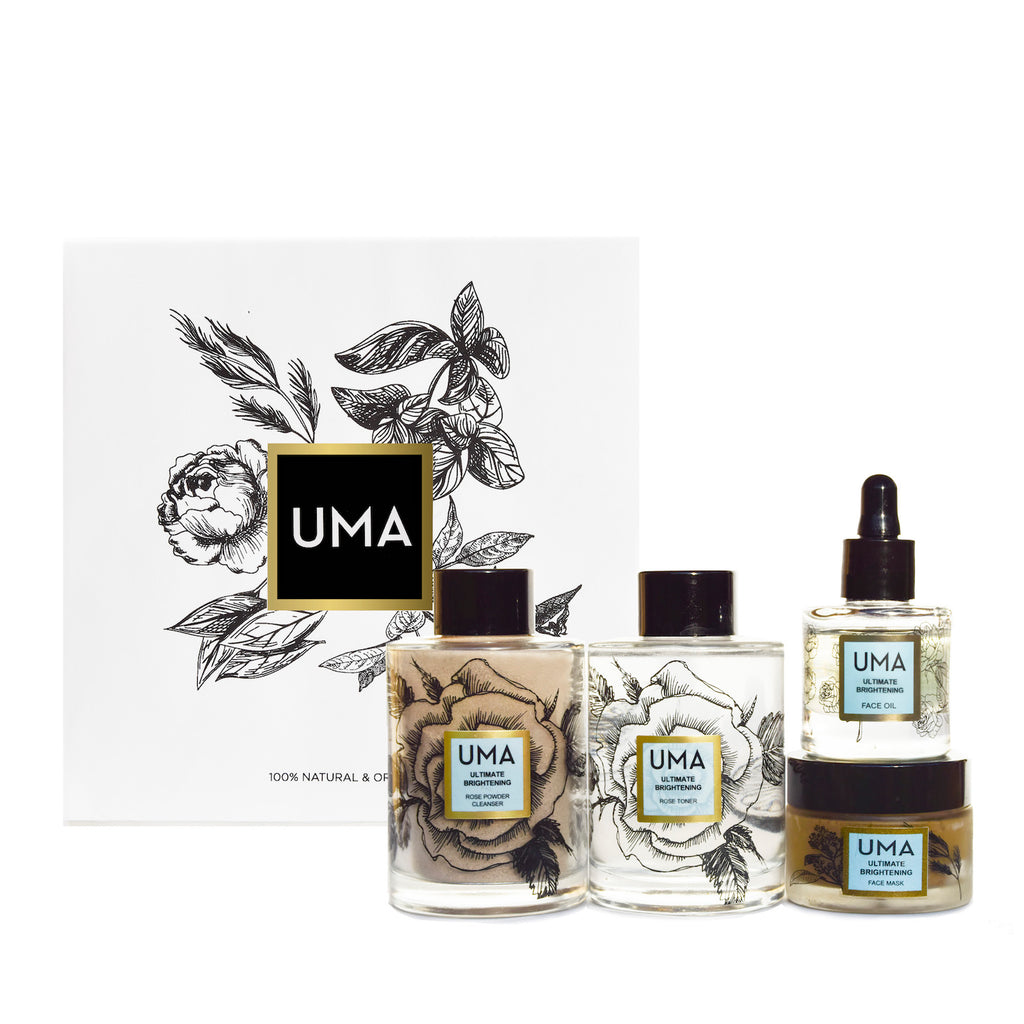 Available soon! - Ultimate Brightening Holiday Gift Set - Uma Oils