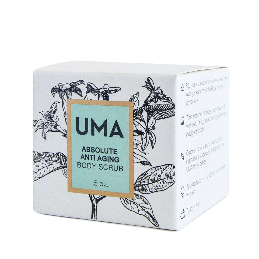Absolute Anti Aging Body Scrub - Uma Oils