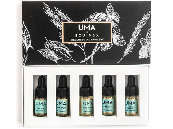 UMA x Equinox Wellness Oil Trial Kit