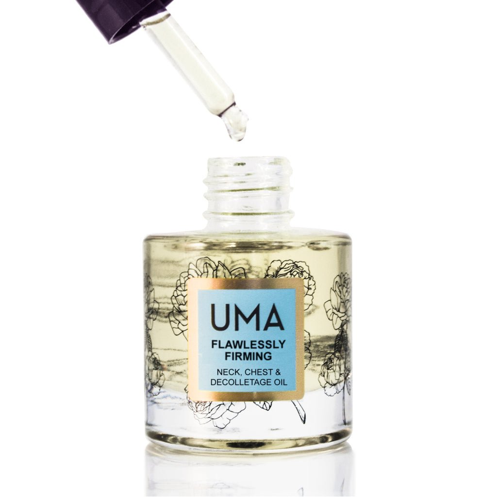 Flawlessly Firming Neck Chest & Décolletage Serum - Uma Oils