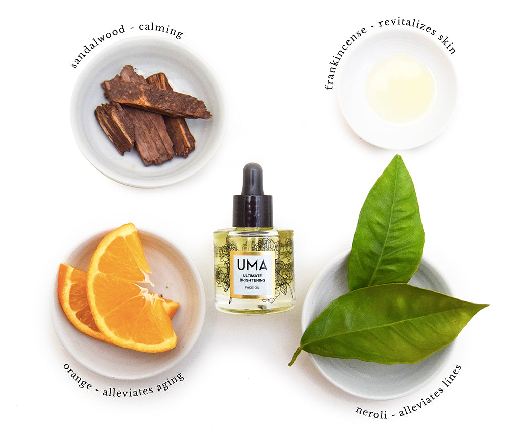 Ultimate Brightening Face Oil - Uma Oils