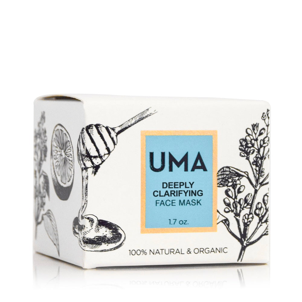 Deeply Clarifying Face Mask - Uma Oils