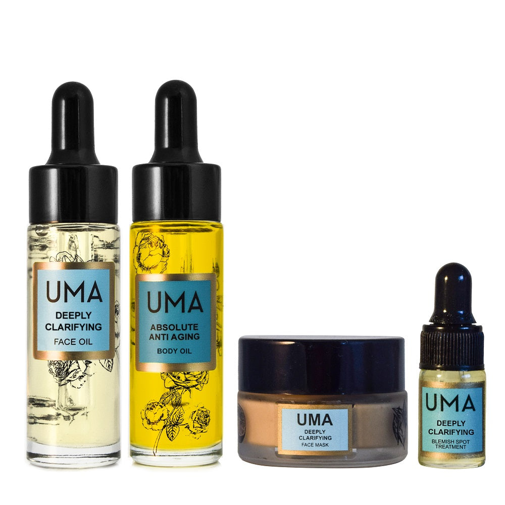 Deeply Clarifying Discovery Kit - Uma Oils