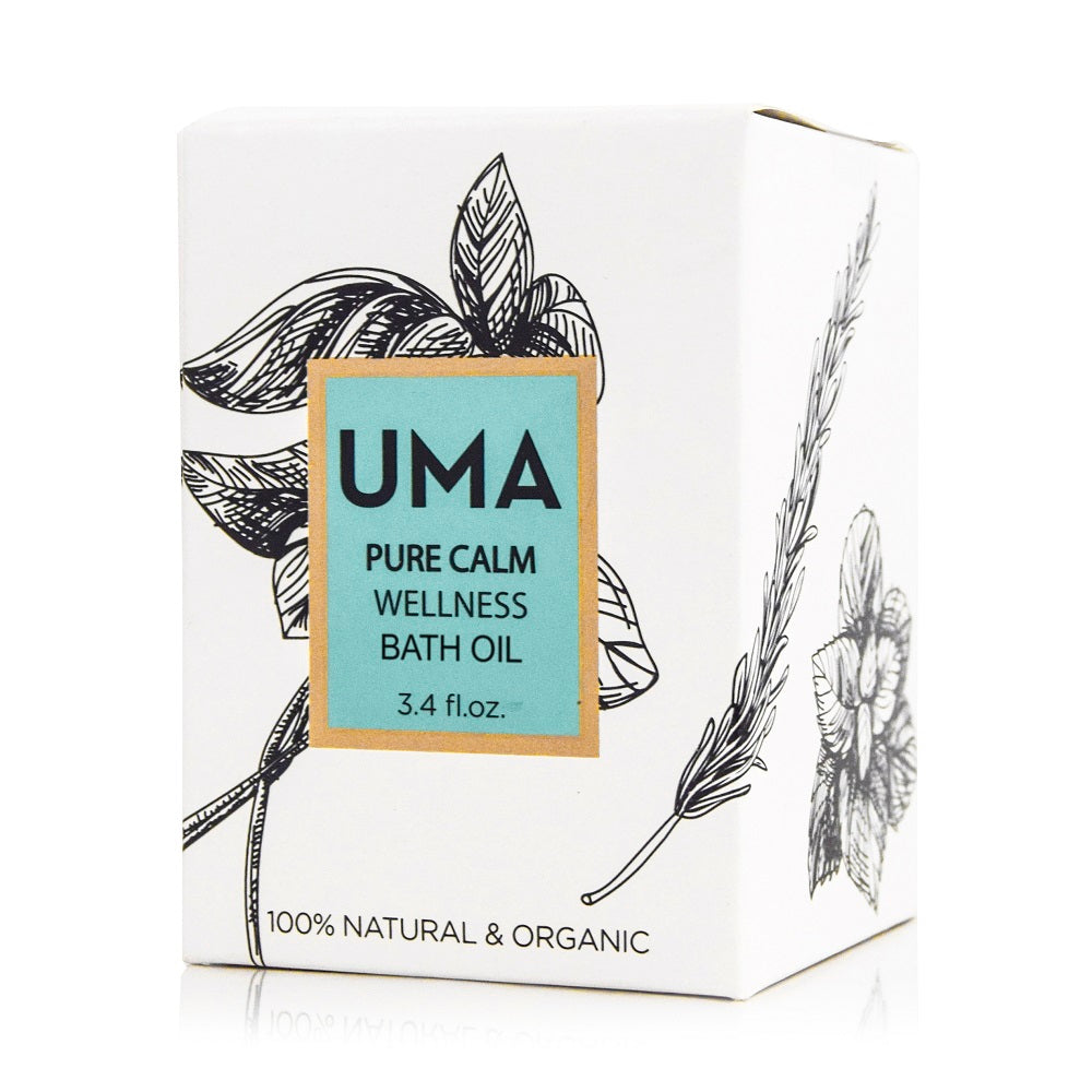 Pure Calm Wellness Bath Oil - Uma Oils
