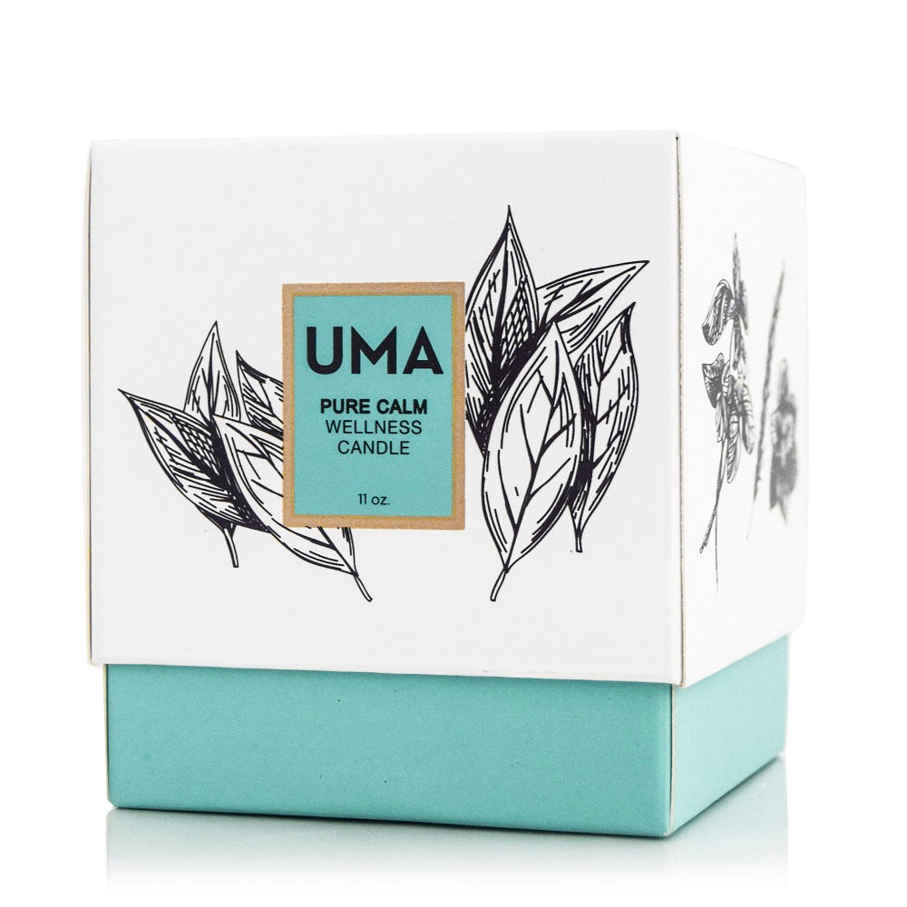 Pure Calm Wellness Candle - Uma Oils