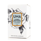 Ultimate Brightening Rose Powder Cleanser - Uma Oils