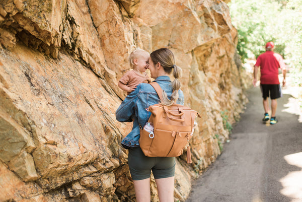 Family hike, packing list for camping, backpack diaper bag, hiking with kids, outdoor activities with kids