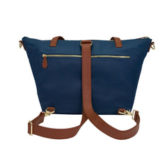 Outlet Lorie - Navy Nylon & Gold