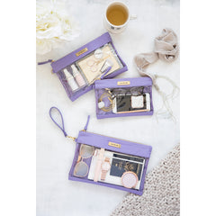 Packing Case - Lilac & Gold