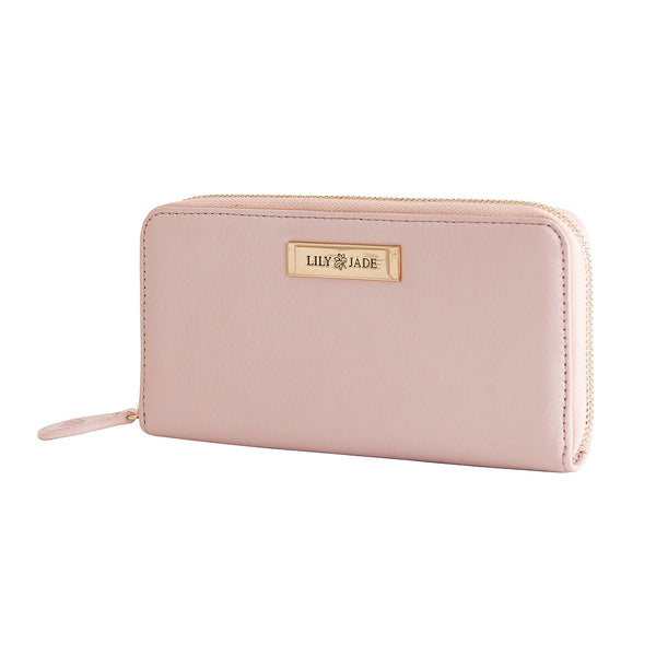 Amber Wallet - Blush & Gold