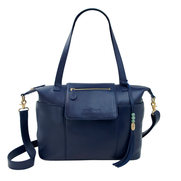 Madeline Navy & Gold