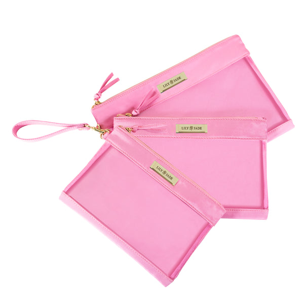 Packing Case - Pink & Gold
