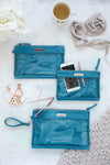 Packing Cases - Sky Blue & Silver