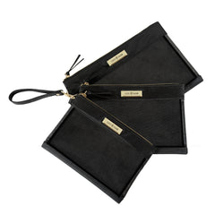 Packing Case - Black & Gold