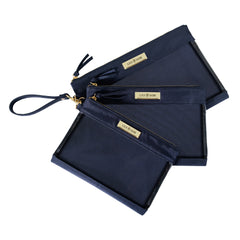 Packing Case - Navy & Gold