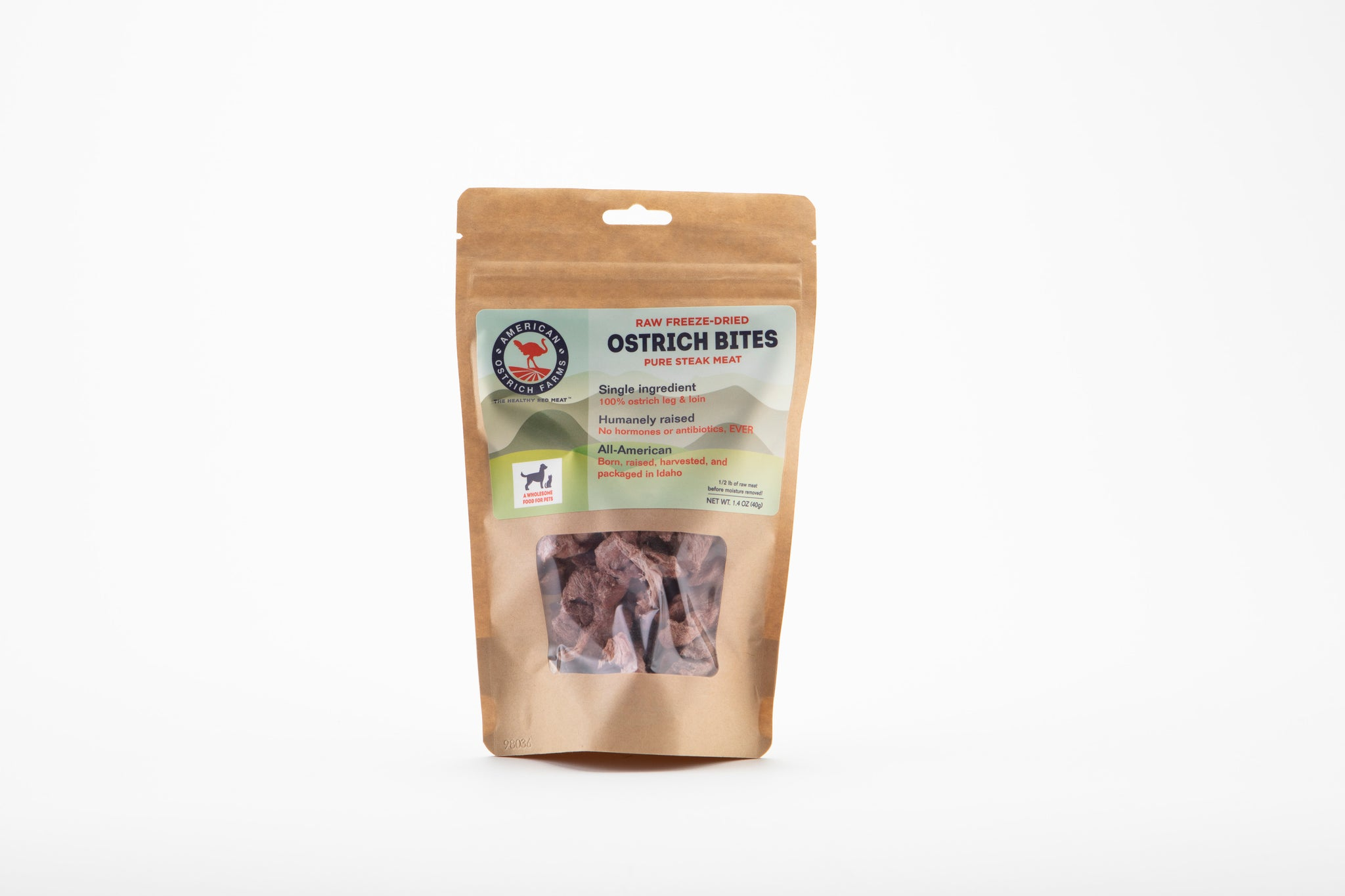 Raw Freeze-dried Steak Bites
