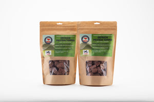 2 bags of freeze dried raw protein topper