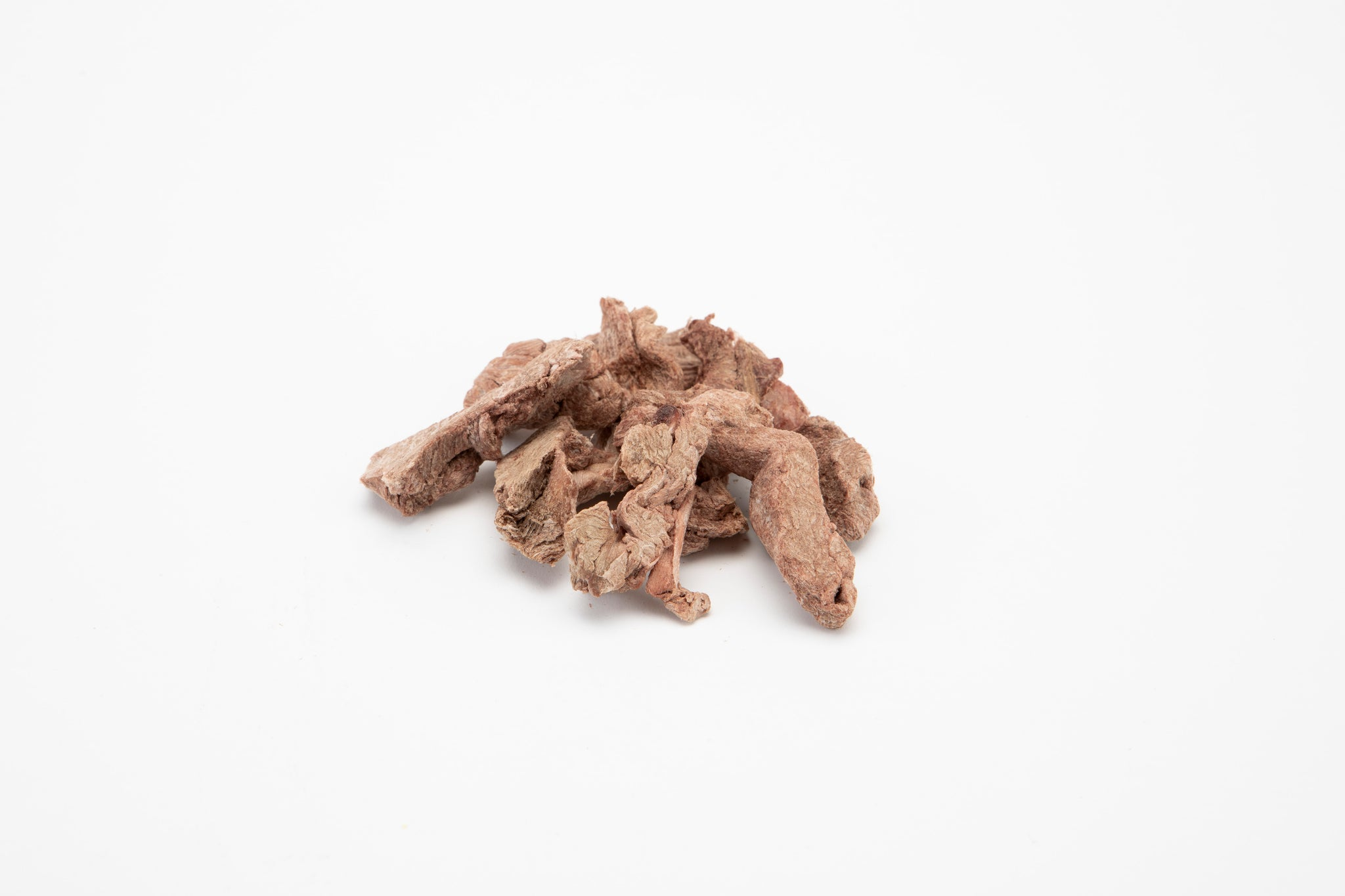 raw freeze-dried ostrich steak bites