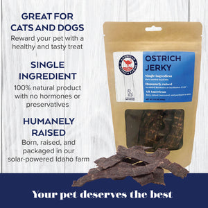 benefit of ostrich jerky