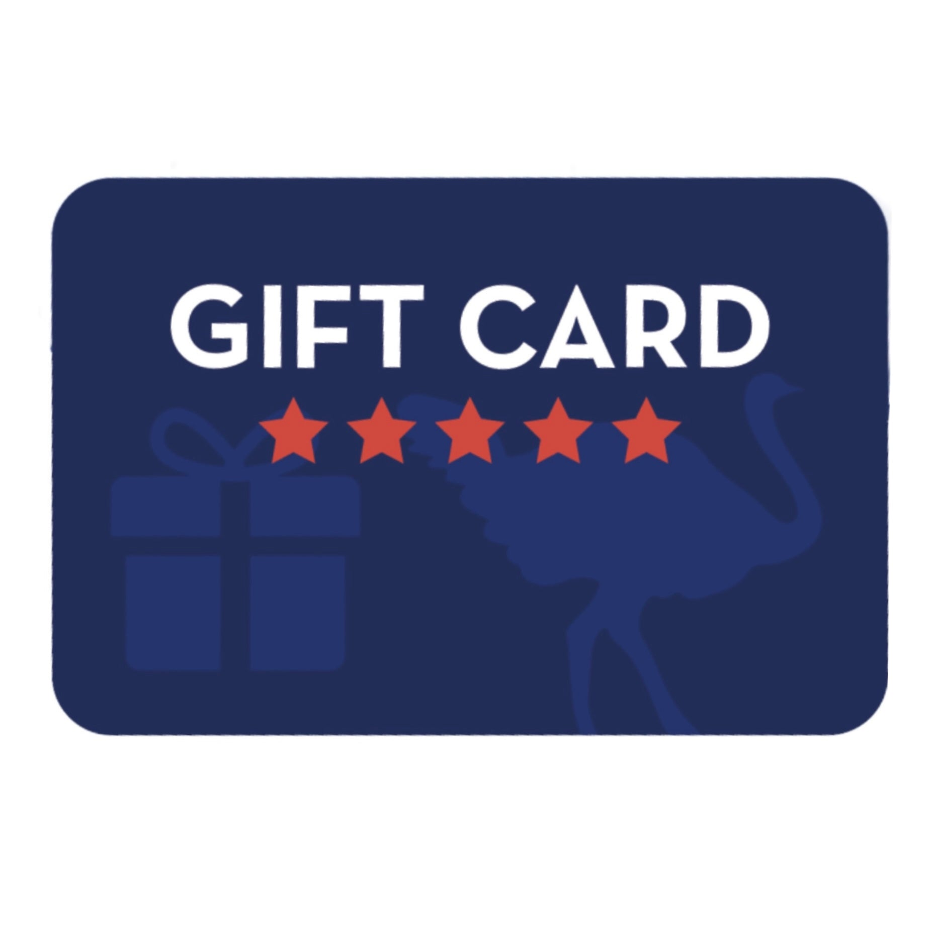 American Ostrich Farms gift card
