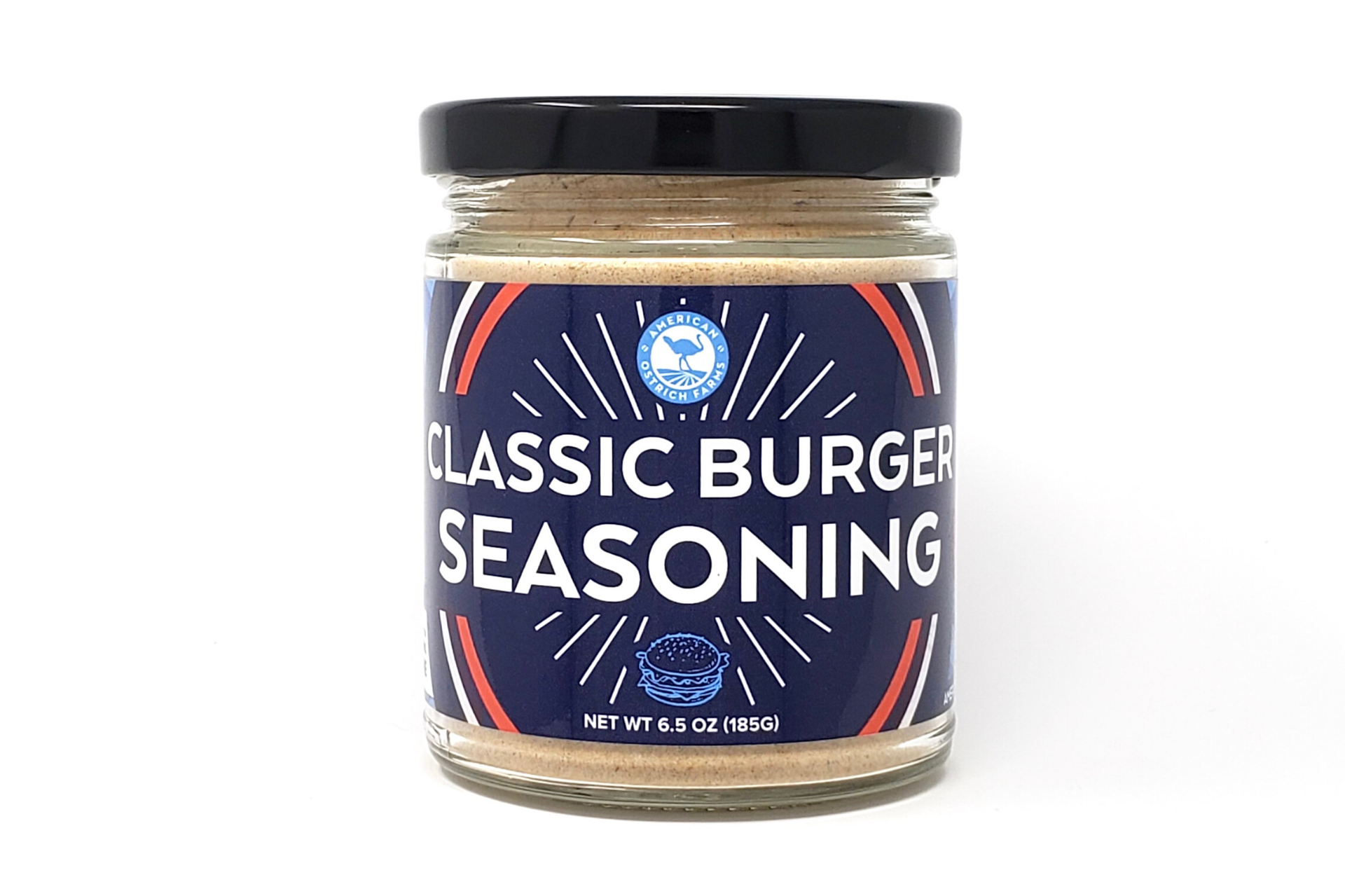 6.5 oz Jar of Classic Burger Seasoning