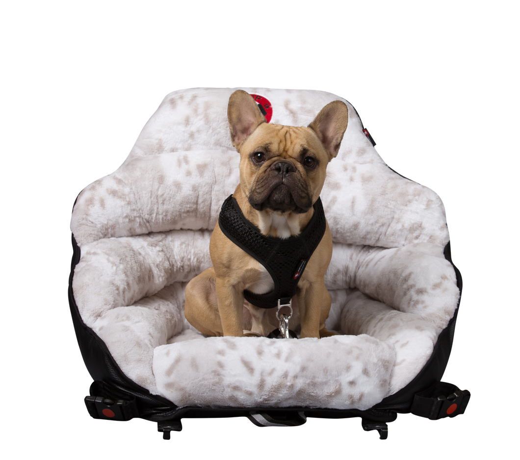 Minky Snow Leopard Original PupSaver (For All Dogs Up To 30 lbs)